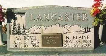 LANCASTER, NORMA ELAINE - Montezuma County, Colorado   NORMA ELAINE LANCASTER - Colorado Gravestone Photos
