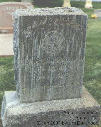 LONGENBAUGH, GEO. M. - Montezuma County, Colorado | GEO. M. LONGENBAUGH - Colorado Gravestone Photos
