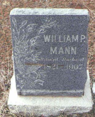 MANN, WILLIAM P. - Montezuma County, Colorado   WILLIAM P. MANN - Colorado Gravestone Photos