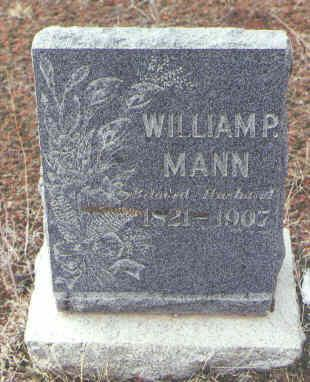 MANN, WILLIAM P. - Montezuma County, Colorado | WILLIAM P. MANN - Colorado Gravestone Photos