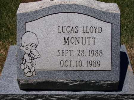 MCNUTT, LUCAS LLOYD - Montezuma County, Colorado   LUCAS LLOYD MCNUTT - Colorado Gravestone Photos