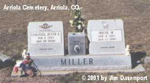 MILLER, IRENE M. - Montezuma County, Colorado | IRENE M. MILLER - Colorado Gravestone Photos