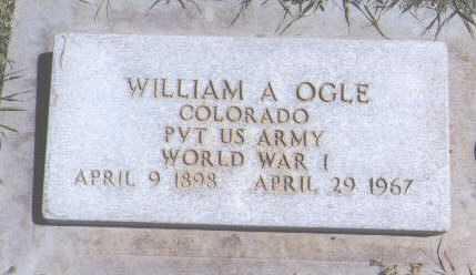 OGLE, WILLIAM A. - Montezuma County, Colorado | WILLIAM A. OGLE - Colorado Gravestone Photos