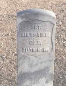 PARKER, ALB'T - Montezuma County, Colorado | ALB'T PARKER - Colorado Gravestone Photos