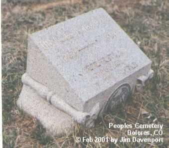 PYLE, ORVILLE DEWEY - Montezuma County, Colorado | ORVILLE DEWEY PYLE - Colorado Gravestone Photos