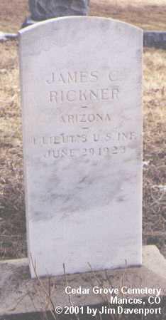 RICKNER, JAMES C. - Montezuma County, Colorado | JAMES C. RICKNER - Colorado Gravestone Photos
