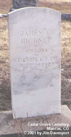 RICKNER, JAMES C. - Montezuma County, Colorado | JAMES C. RICKNER - Colorado Gravestone Photos