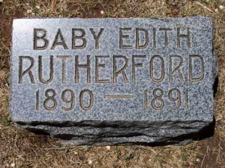 RUTHERFORD, EDITH - Montezuma County, Colorado | EDITH RUTHERFORD - Colorado Gravestone Photos