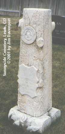 RUTHERFORD, THOMAS ALFRED - Montezuma County, Colorado   THOMAS ALFRED RUTHERFORD - Colorado Gravestone Photos