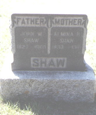SHAW, ALMINA R. - Montezuma County, Colorado | ALMINA R. SHAW - Colorado Gravestone Photos