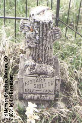SHILTON, RICHARD - Montezuma County, Colorado   RICHARD SHILTON - Colorado Gravestone Photos
