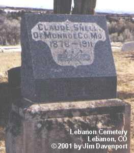 SNELL, CLAUDE E. - Montezuma County, Colorado | CLAUDE E. SNELL - Colorado Gravestone Photos