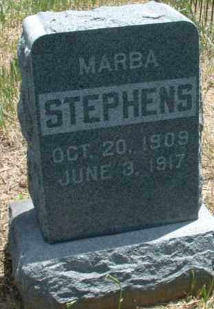 STEPHENS, MARBA - Montezuma County, Colorado | MARBA STEPHENS - Colorado Gravestone Photos