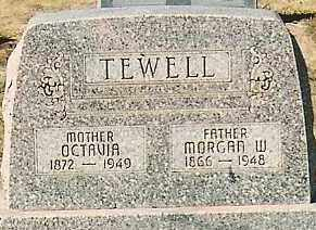 TEWELL, MORGAN W. - Montezuma County, Colorado | MORGAN W. TEWELL - Colorado Gravestone Photos