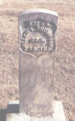 THOMPSON, ALLEN L. - Montezuma County, Colorado   ALLEN L. THOMPSON - Colorado Gravestone Photos