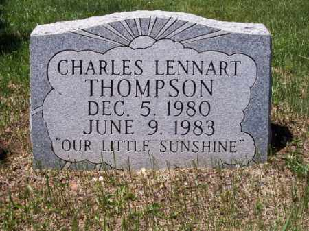 THOMPSON, CHARLES LENNART - Montezuma County, Colorado | CHARLES LENNART THOMPSON - Colorado Gravestone Photos