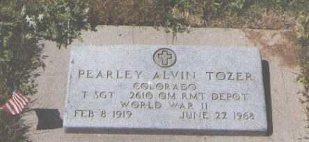 TOZER, PEARLEY ALVIN - Montezuma County, Colorado | PEARLEY ALVIN TOZER - Colorado Gravestone Photos
