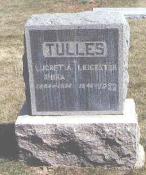 TULLES, LUCRETIA SHIRA - Montezuma County, Colorado | LUCRETIA SHIRA TULLES - Colorado Gravestone Photos