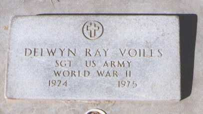 VOILES, DELWYN RAY - Montezuma County, Colorado | DELWYN RAY VOILES - Colorado Gravestone Photos