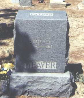 WEAVER, JAMES D. - Montezuma County, Colorado | JAMES D. WEAVER - Colorado Gravestone Photos