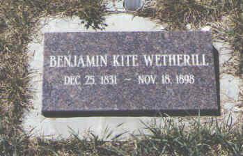 WETHERILL, BENJAMIN KITE - Montezuma County, Colorado | BENJAMIN KITE WETHERILL - Colorado Gravestone Photos