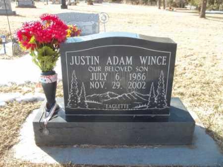 WINCE, JUSTINE ADAM - Montezuma County, Colorado | JUSTINE ADAM WINCE - Colorado Gravestone Photos