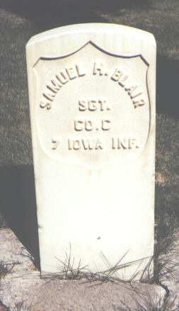 BLAIR, SAMUEL H. - Montrose County, Colorado   SAMUEL H. BLAIR - Colorado Gravestone Photos