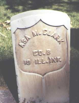 CLARK, ASA M. - Montrose County, Colorado | ASA M. CLARK - Colorado Gravestone Photos