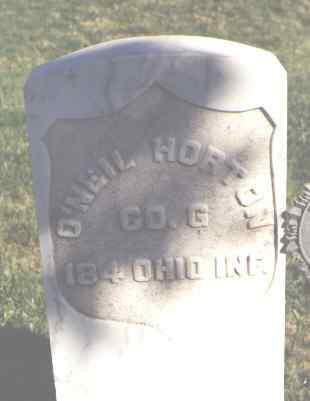 HORTON, O'NEAL - Montrose County, Colorado | O'NEAL HORTON - Colorado Gravestone Photos