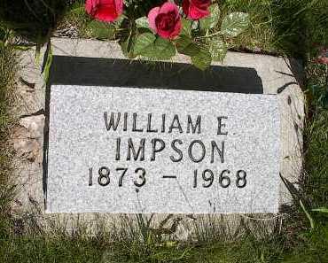 IMPSON, WILLIAM E. (EDWARD) - Montrose County, Colorado | WILLIAM E. (EDWARD) IMPSON - Colorado Gravestone Photos