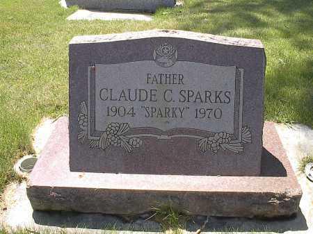 SPARKS, CLAUDE C. - Montrose County, Colorado | CLAUDE C. SPARKS - Colorado Gravestone Photos