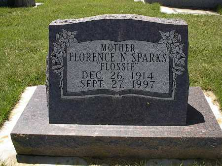 SPARKS, FLORENCE N. - Montrose County, Colorado   FLORENCE N. SPARKS - Colorado Gravestone Photos
