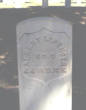SPENCER, ALBERT J. - Montrose County, Colorado   ALBERT J. SPENCER - Colorado Gravestone Photos