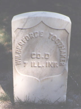 TOOTHAKER, WILBERFORCE - Montrose County, Colorado | WILBERFORCE TOOTHAKER - Colorado Gravestone Photos