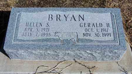 BRYAN, GERALD H - Morgan County, Colorado | GERALD H BRYAN - Colorado Gravestone Photos