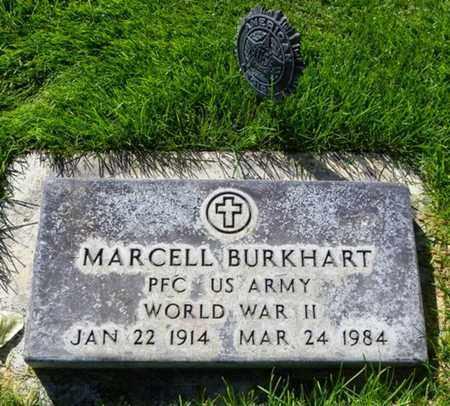 BURKHART, MARCELL - Morgan County, Colorado | MARCELL BURKHART - Colorado Gravestone Photos