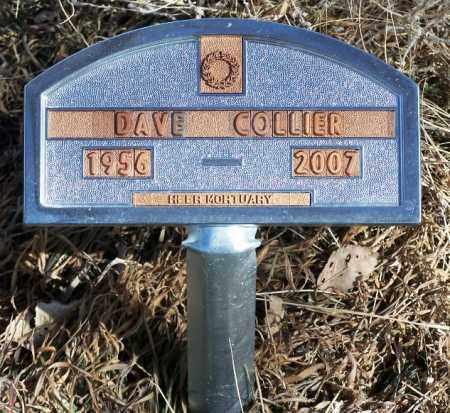 COLLIER, DAVE - Morgan County, Colorado | DAVE COLLIER - Colorado Gravestone Photos