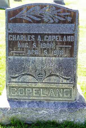 COPELAND, CHARLES A. - Morgan County, Colorado | CHARLES A. COPELAND - Colorado Gravestone Photos