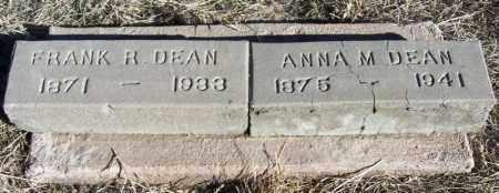 DEAN, ANNA M - Morgan County, Colorado | ANNA M DEAN - Colorado Gravestone Photos