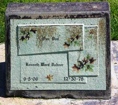 DOBNER, KENNETH WARD - Morgan County, Colorado | KENNETH WARD DOBNER - Colorado Gravestone Photos