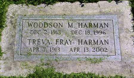 FRAY HARMAN, TREVA - Morgan County, Colorado | TREVA FRAY HARMAN - Colorado Gravestone Photos