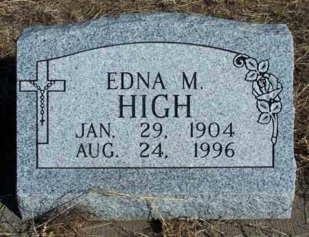 HIGH, EDNA M - Morgan County, Colorado | EDNA M HIGH - Colorado Gravestone Photos