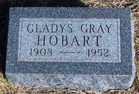 GRAY HOBART, GLADYS - Morgan County, Colorado | GLADYS GRAY HOBART - Colorado Gravestone Photos
