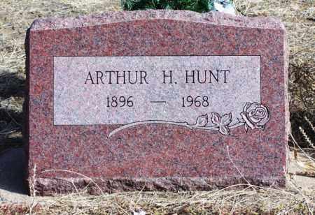 HUNT, ARTHUR H - Morgan County, Colorado | ARTHUR H HUNT - Colorado Gravestone Photos