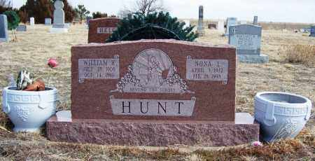 HUNT, NONA L - Morgan County, Colorado | NONA L HUNT - Colorado Gravestone Photos