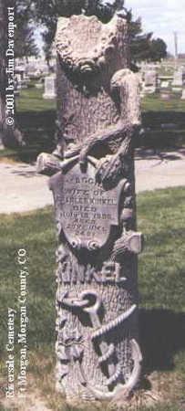 KINKEL, MAGGIE - Morgan County, Colorado   MAGGIE KINKEL - Colorado Gravestone Photos