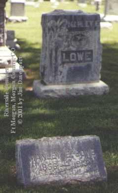 LOWE, MANLEY E. - Morgan County, Colorado | MANLEY E. LOWE - Colorado Gravestone Photos