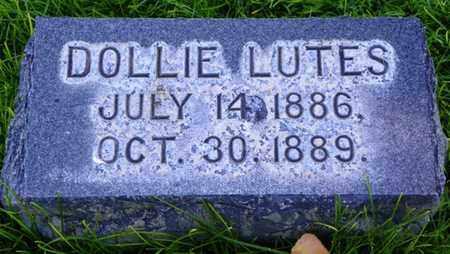 LUTES, DOLLIE - Morgan County, Colorado | DOLLIE LUTES - Colorado Gravestone Photos