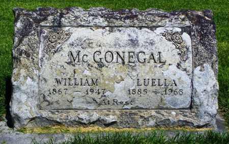 MCGONEGAL, WILLIAM - Morgan County, Colorado   WILLIAM MCGONEGAL - Colorado Gravestone Photos
