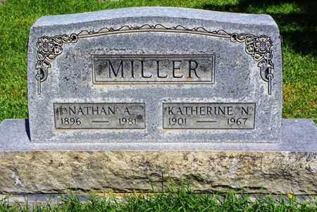 MILLER, NATHAN A. - Morgan County, Colorado   NATHAN A. MILLER - Colorado Gravestone Photos